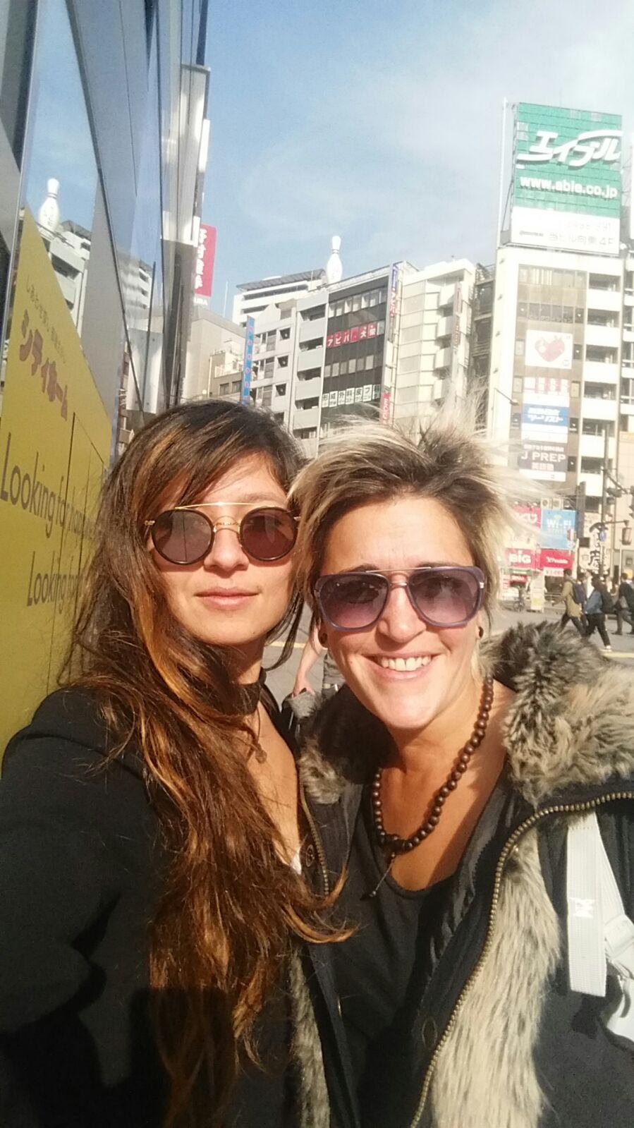 Debo A et Jess C au Japon