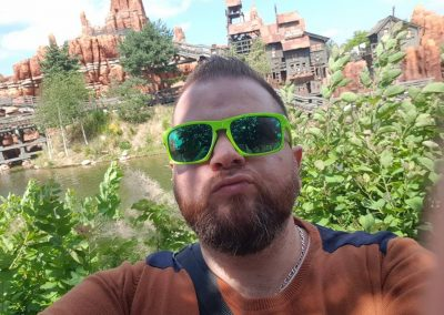 Martial Z à Disneyland Paris