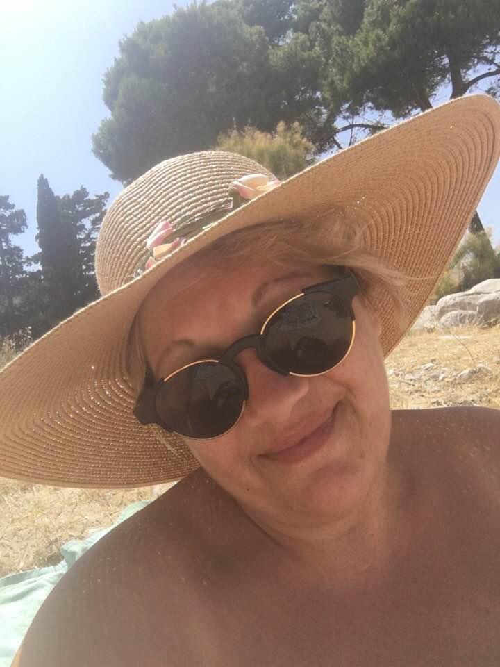 Marie Ange en Espagne